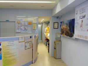 櫃檯候診區